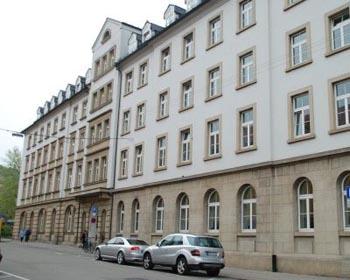 Gestapohaus Stuttgart, von hier ging die Ermordung von über 2600 württembergischen Juden aus.