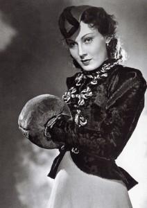 Lida Baarova im Film 'Patrioten', 1937