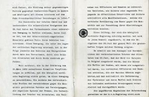 Textauszug aus dem österreichisch-ungarischen Ultimatum an Serbien – deutsche Übersetzung (Original in französischer Sprache)