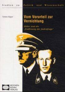 """Buchcover » Torsten Ripper: Vom Vorurteil zur Vernichtung. Hitler und die """"Endlösung der Judenfrage""""."""