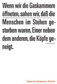 Henryk Mandelbaum, Häftling im Sonderkommando in den Krematorien von Auschwitz-Birkenau, in dem SWR/ARD-Film »Sklaven der Gaskammer«.