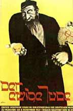 Plakat zur antisemitischen Ausstellung