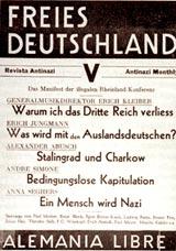Aufruf der deutschen Exilpresse.