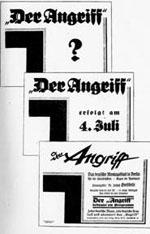 """NS-Zeitung """"Angriff"""""""