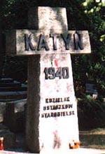 Katyń Denkmal