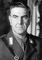 Gründer der Ustasa-Bewegung Ante Pavelic (1889-1969)