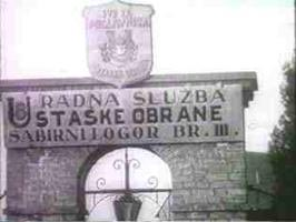 Eingangzum Lager Jasenovac