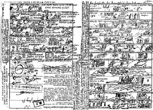 """""""Chronologische Karte v(on) 500 000 v(or) – 1929 n(ach) Chr(istus)"""""""