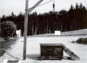 Der Galgen als zentraler Schauplatz öffentlicher Hinrichtungen.