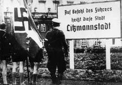 """Umbenennung der Stadt Łódź in """"Litzmannstadt"""""""