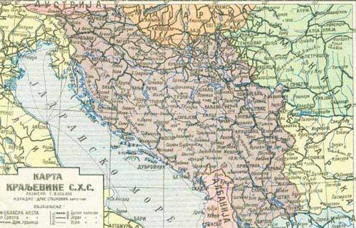 Jugoslawien am 6. April 1941