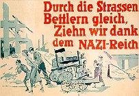 Plakat zur Obdachlosenproblematik der Nachkriegszeit. Köln, 1945