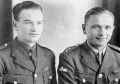 Kubis (1913-1942, Bild links) und Jozef Gabík (1912-1942, Bild rechts)