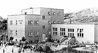 Das Milíčův dům (Milíč-Haus) von Přemysl Pitter