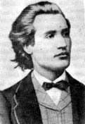 "Der rumänische ""Nationaldichter"" (poet nacional) Mihai Eminescu (1850-1889)"