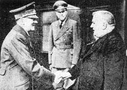 Hitler und Tiso in Salzburg 1940