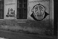 Graffiti: Der Jude ist unser Feind