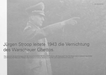 Jürgen Stroop, der im Jahr 1942 maßgeblich an der Vernichtung des Warschauer Ghettos und seiner Menschen beteiligt war