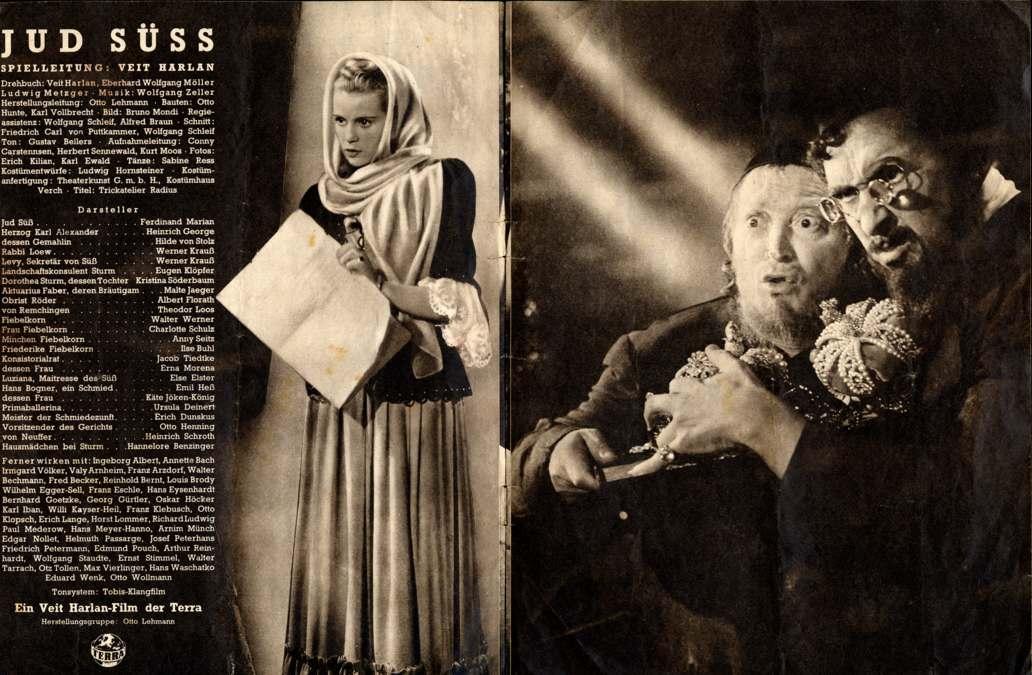 Jud Süss - Propagandafilm von Veit Harlan