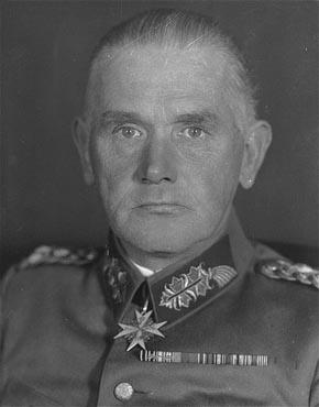 Werner von Blomberg (1878-1946)