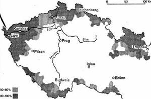 """Das """"Protektorat Böhmen und Mähren"""""""