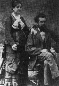 """Albert und Mathilde Weiss, die Eltern von """"Jupp"""""""